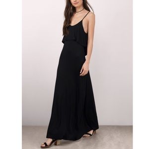 Tobi BEYOND THE SEA BLACK MAXI DRESS